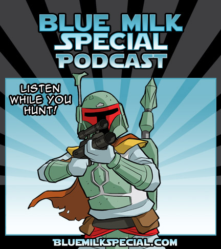 Podcast for Blue Milk Special webcomic