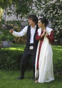 Star Wars Prom Couple 2