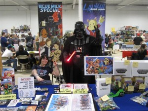 Darth Vader Retro Con 2013 Blue Milk Special