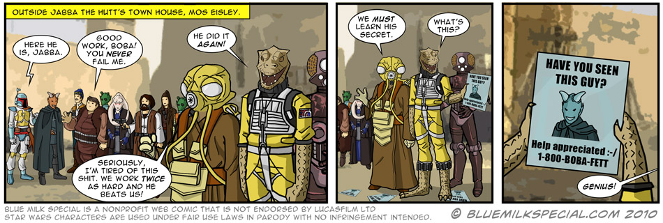 Envy of the bounty hunters