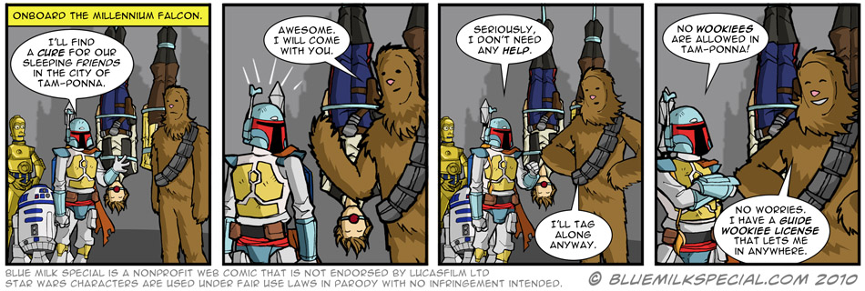 The Perks of Being a Wookiee