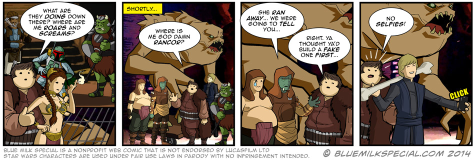 Mystery of the missing Rancor