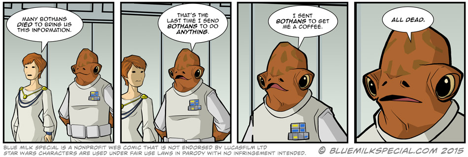 Many Bothans Died…