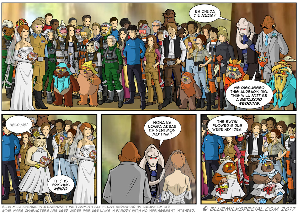 The Ackbar and Mothma Wedding