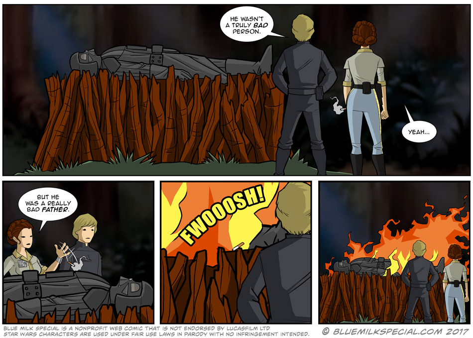Anakin's Funeral